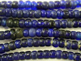 Old Cobalt Blue Padre Trade Beads 8-10mm (AT27)