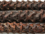 Old African Snake Vertebrae Beads 12-20mm (AT96)