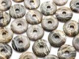 Ocean Jasper Donut Pendant 30mm (AP1094)