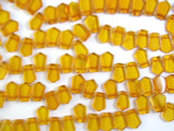 Genuine Amber Petal Beads 12mm (AB12)