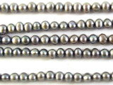 Silver Potato Pearl Beads 4mm (PRL133)
