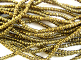 Bronze Glass African Beads 3-4mm (AT403)