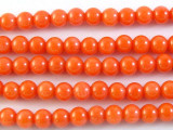 Pink Coral Round Beads 5mm (CO511)