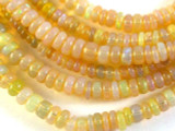 Opal Graduated Rondelle Gemstone Beads 2-4mm (GS3018)