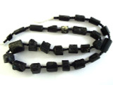 Tourmaline Gemstone Beads - Black (AF1334)