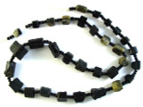 Tourmaline Gemstone Beads - Black (AF1336)