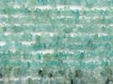 """Aquamarine Chip Gemstone Beads - 34"""" strand (GS3021)"""