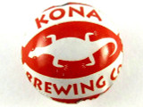 Red Kona Bottle Cap Bead - Small 15mm (BCB87)
