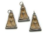 Thai Buddhist Amulet 33mm (TA240)