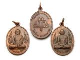 Thai Buddhist Amulet 34mm (TA245)