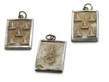 Thai Buddhist Amulet 29mm (TA252)