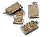 Thai Buddhist Amulet 27mm (TA255)