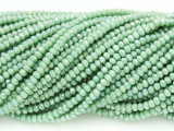 Celadon Green Crystal Glass Beads 2mm (CRY21)