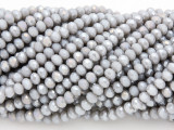 Gray Crystal Glass Beads 4mm (CRY54)