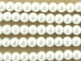 White Glass Pearl Beads 4mm (PG21)