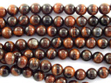 Red Tiger Eye Round Gemstone Beads 6mm (GS3109)