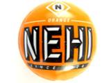 Nehi Orange Soda Bottle Cap Bead - Large 21mm (BCB105)