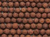Raktu Seed Prayer Beads Mala - Nepal 9mm (NP486)