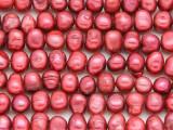 Dark Pink Irregular Pearl Beads 8mm (PRL155)