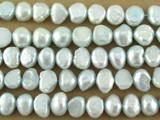 Light Aqua Irregular Pearl Beads 8mm (PRL158)