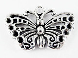 Butterfly - Pewter Pendant 17mm (PW1127)