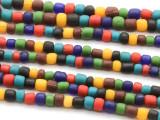 Multi-Color Glass Beads 4-6mm (JV982)