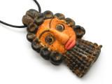 Phoenician Mask Pendant 83mm (CB505)