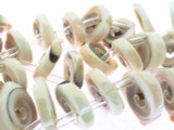 End-Drilled Shell Beads 26mm (SH510)