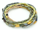 Watermelon Trade Beads - 3 strands (AT909)