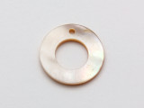 Mother of Pearl Donut Shell Pendant 20mm (AP1476)