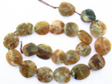 Brandy Opal Faceted Gemstone Beads 15-17mm (GS3467)