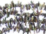 Charoite Stick Gemstone Beads 7-17mm (GS3479)