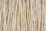"""Ivory Hand Stitched Silk Cord 42"""" (SK44)"""