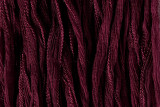 "Wine Hand Stitched Silk Fairy Ribbon 42"" (SK1003)"