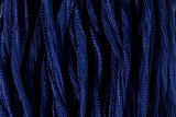 """Navy Blue Hand Stitched Silk Fairy Ribbon 42"""" (SK1004)"""