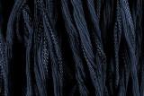 "Dark Slate Blue Hand Stitched Silk Fairy Ribbon 42"" (SK1018)"