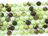 Lemon Chrysoprase Round Gemstone Beads 6mm (GS3529)