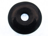 Blue Goldstone Donut Pendant 30mm (GSP542)