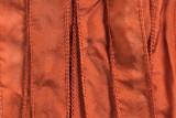 "Rust Orange Hand Stitched Silk Ribbon 42"" (SK3002)"