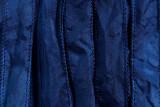 "Navy Blue Hand Stitched Silk Ribbon 42"" (SK3005)"