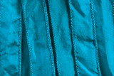 """Turquoise Hand Stitched Silk Ribbon 42"""" (SK3007)"""