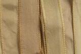 """Vanilla White Hand Stitched Silk Ribbon 42"""" (SK3014)"""