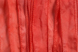 """Coral Pink Hand Stitched Silk Ribbon 42"""" (SK3018)"""