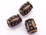 Copper Barrel Bead 5mm (CP58)
