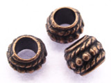 Copper Spacer Bead 7mm (CP59)