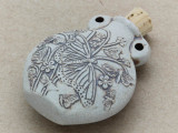 Butterflies Ceramic Cork Bottle Pendant 44mm (AP1834)