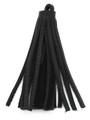 "Black Leather Tassel - Small 4"" (LR46)"