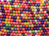 Multi-Color Magnesite Round Gemstone Beads 4mm (GS3658)
