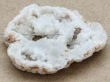 White Druzy Agate Pendant 57mm (GSP958)