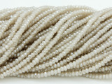 Taupe Crystal Glass Beads 2mm (CRY251)